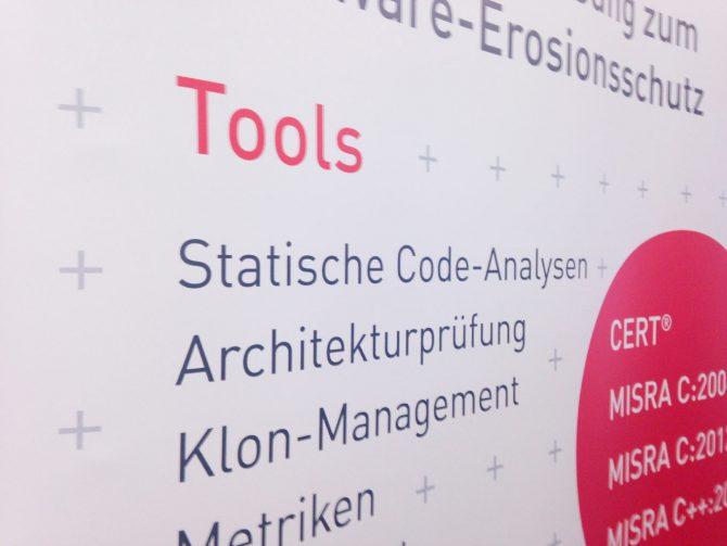 ESE Kongress Messegrafik für axivion, quintessence design Stuttgart