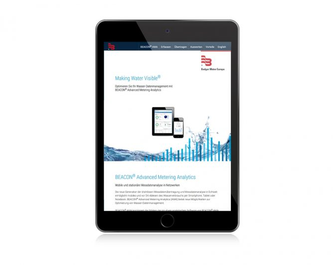 BEACON Microsite iPad
