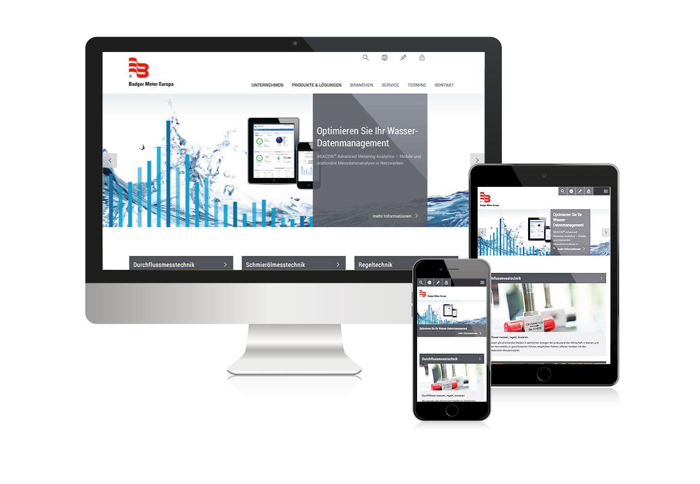 Badger Meter Europa, Website