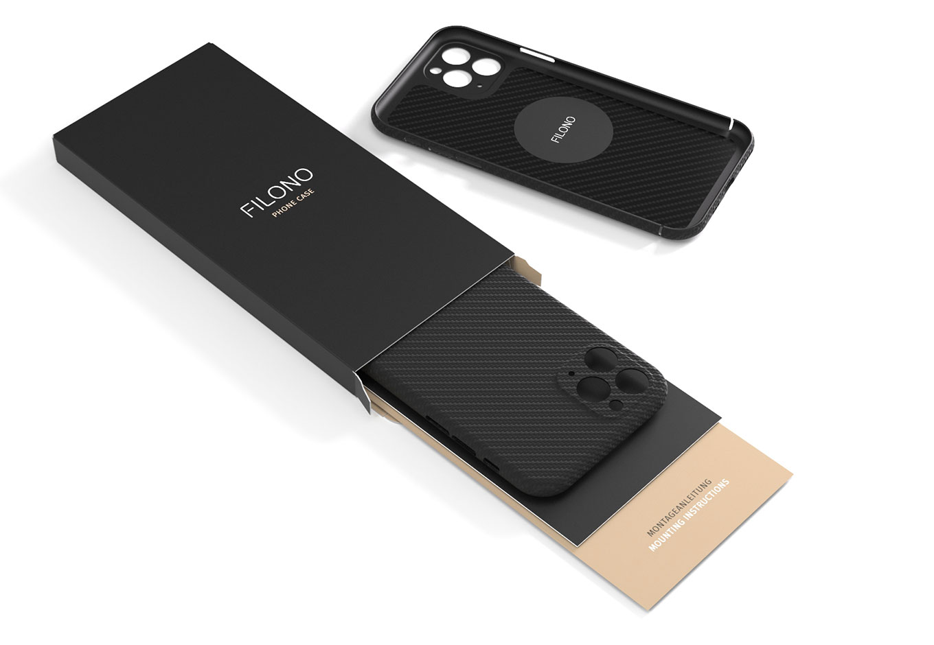 FILONO Phone Case Packaging