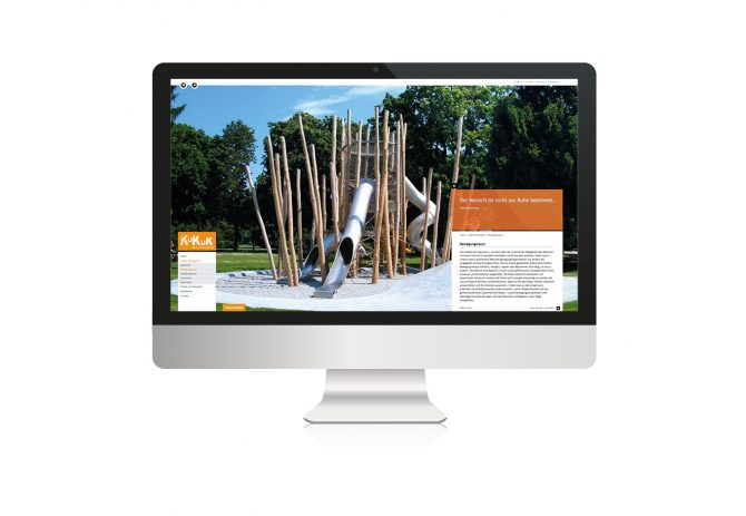 zumKuKuk Website, quintessence design Stuttgart