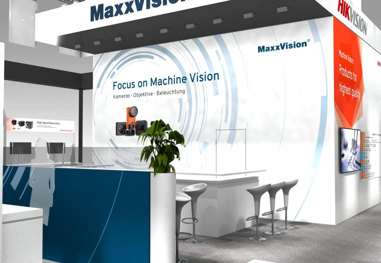 MaxxVIsion, Hikvision, Toshiba Teli, Messegrafik, Vision2018