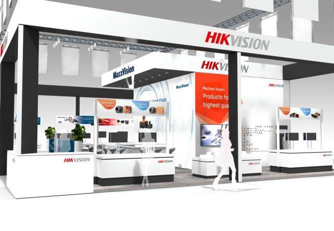 MaxxVIsion, Hikvision, Toshiba Teli, Messestand, Vision2018