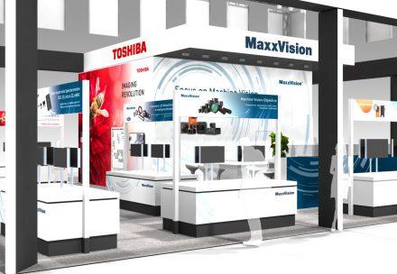 MaxxVision, Toshiba Teli Corporation Messegrafik, Vision2018