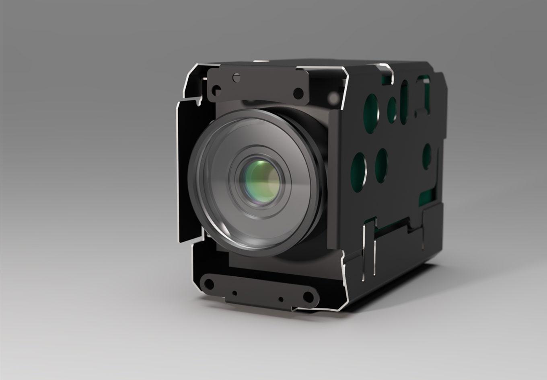 Zoomkamerablock 3D für MaxxVision