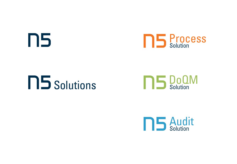 Corporate Design für N5, quintessence design Stuttgart