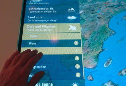 Interaktiver Klimaexplorer für die Stadtwerke Schorndorf, quintessence design Stuttgart